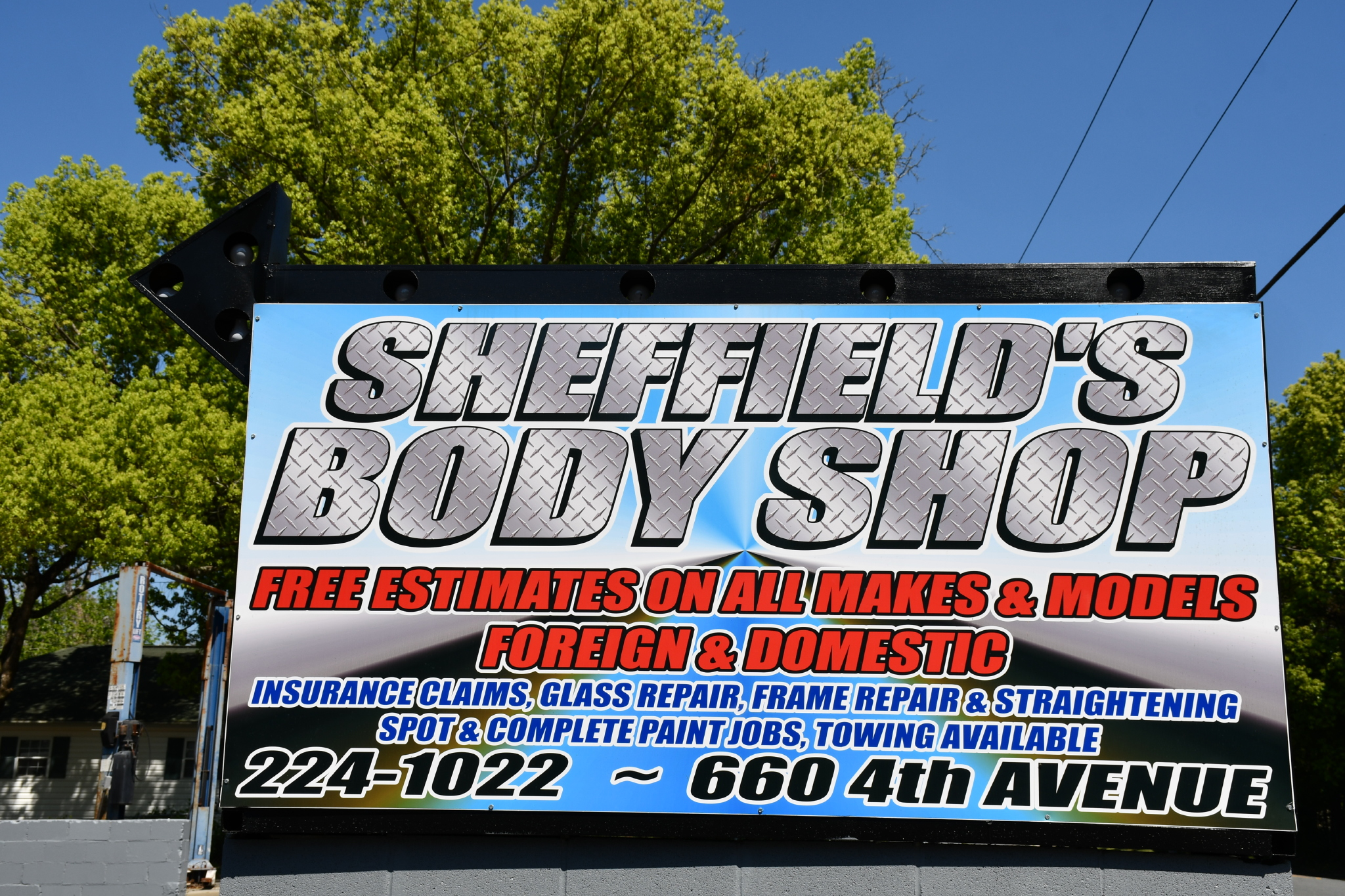 Body Shop Tallahassee >> Gallery Sheffield Collision Tallahassee Truck Paint And Body